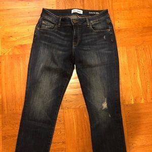 DL1961 Davis skinny boyfriend jeans, size 26
